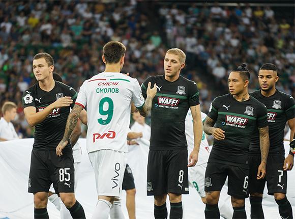 Как прошел 6-й тур Российской премьер-лиги в Краснодаре