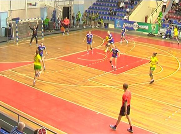 ГК «Динамо-Синара» уступил «Кубани» со счетом 33:22