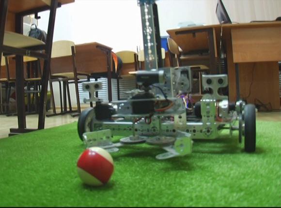 Студенты колледжа Усть-Лабинска сделали прототип робота-грузчика