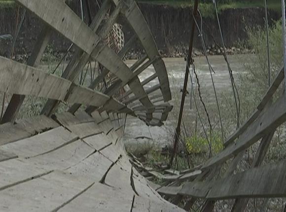 В Сочи восстановят снесенный рекой мост в селе Пластунка