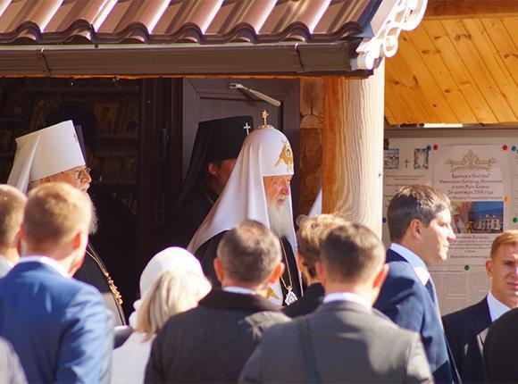 Патриарх Кирилл поздравил жителей Ейска с праздником Воздвижения Креста Господня