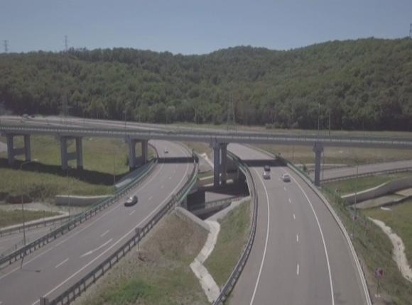 В районе Джубгинской транспортной развязки начался ремонт моста