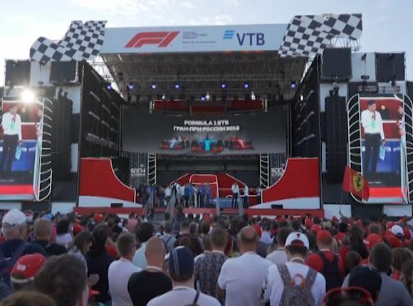 В Сочи прошли свободные заезды пилотов «Формулы-1»