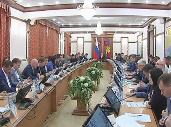 В администрации Краснодарского края обсудили освоение бюджетных средств