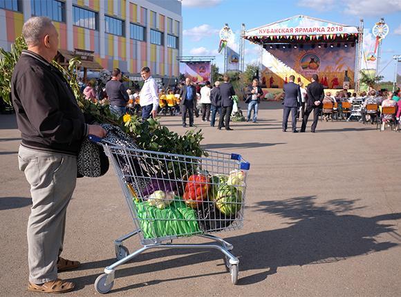 История проведения «Кубанской ярмарки» в Краснодаре