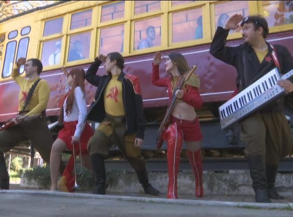 В Краснодаре в съемках клипа на гимн общественного транспорта задействовали 40 человек