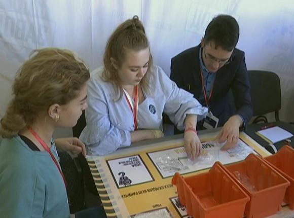 На форуме «Дело за малым» впервые провели бизнес-игру «Завод»