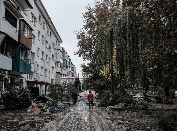 В Апшеронском районе обсудили ликвидацию последствий подтопления