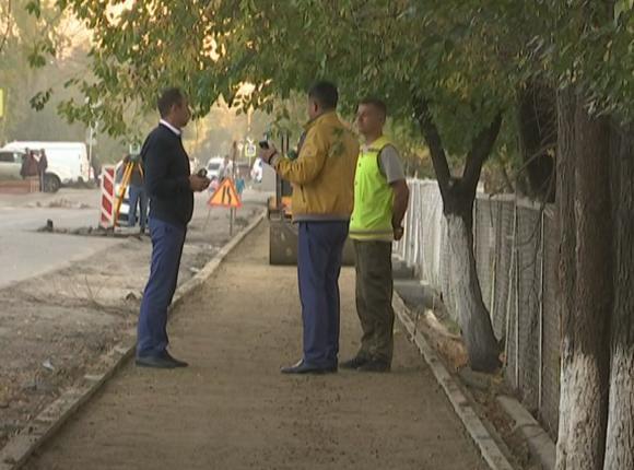 Департамент транспорта Краснодара оценил ход ремонта улицы 1 Мая
