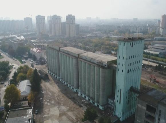 В Краснодаре вместо элеватора на улице Колхозной возведут жилой комплекс
