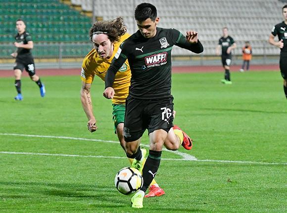 Как сыграли ФК «Урожай» и «Краснодар-3»