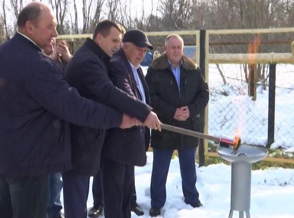 На хуторе Павловского района провели газ