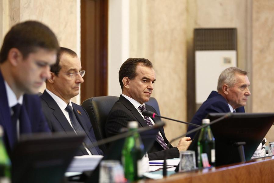 В ЗСК приняли в первом чтении бюджет Кубани