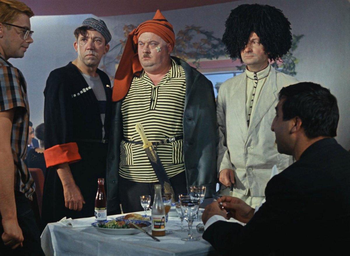 Ирония судьбы, или Тест на знание советских комедий