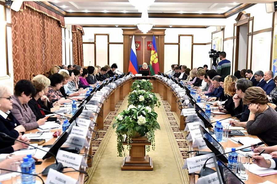 Анна Минькова подвела итоги социальной работы на Кубани в 2018 году