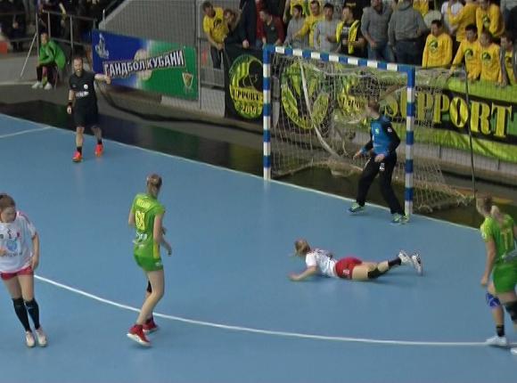 Как ГК «Кубань» сыграл с норвежским «Ларвиком» в матче Кубка ЕГФ