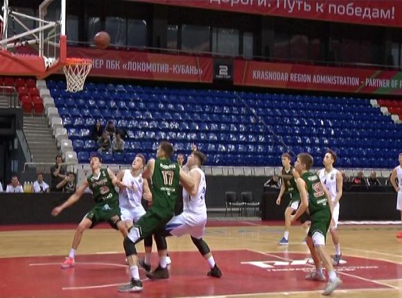 Как БК «Локомотив-Кубань-2» сыграл с «Зенитом-2»