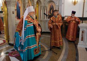 Митрополит Исидор отмечает день тезоименитства