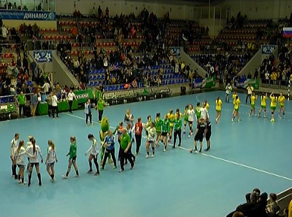 ГК «Кубань» дома сыграл с «Виборгом» из Дании