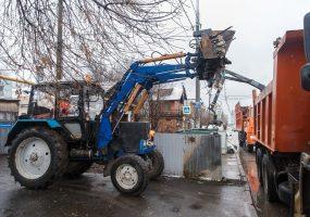 В Краснодаре убрали мусор с 122 участков возле контейнерных площадок