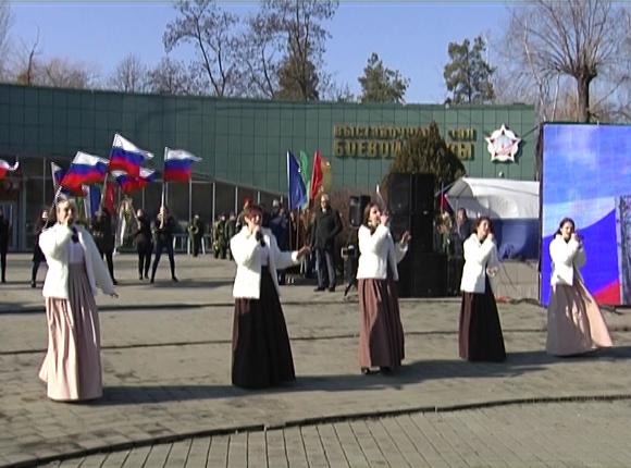 На Кубани начался месяц, посвященный военно-патриотической работе