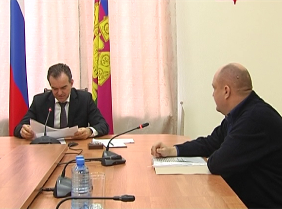 Вениамин Кондратьев провел личный прием граждан в Краснодаре