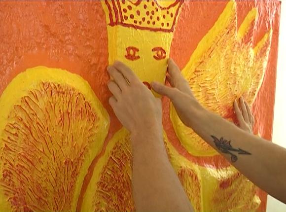 На выставке «Прикоснись к картине» в Сочи представили 16 работ Ольги Хрисановой