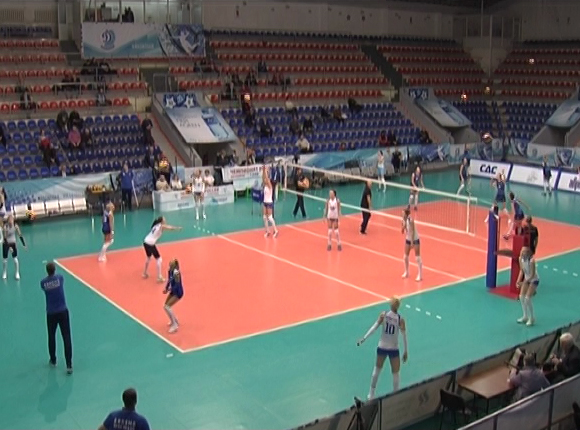 Как волейболистки «Динамо» сыграли с «Сахалином»
