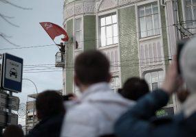 В Краснодаре провели реконструкцию боя за освобождение города от фашистов