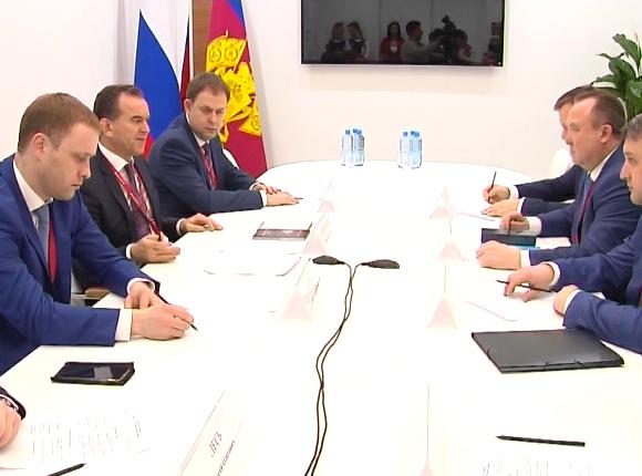 Крымский район подписал на РИФ-2019 два соглашения