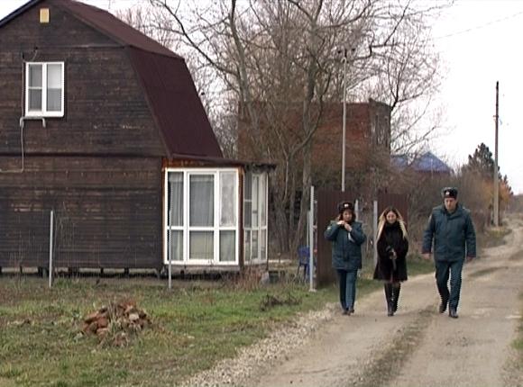 Спасатели рассказали жителям Краснодара о пожарной безопасности