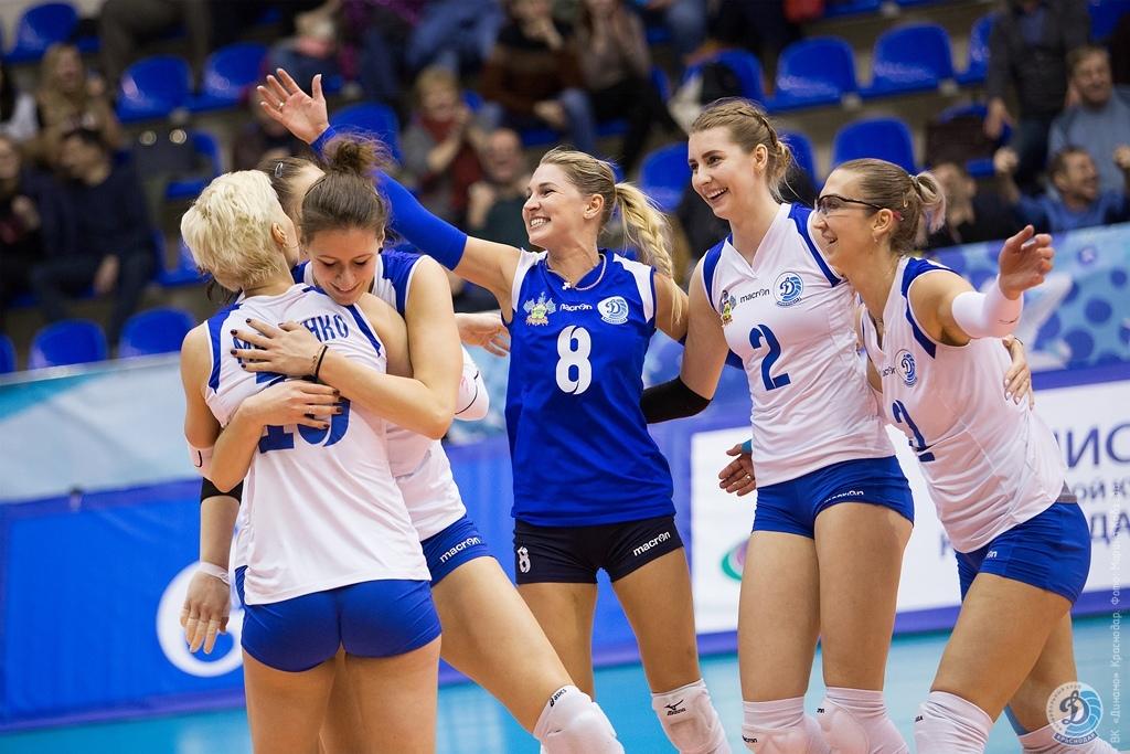 Как волейболистки «Динамо» сыграли с ВК «Динамо-Метар»