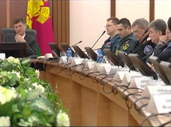 В Краснодаре прошло заседание комиссии по чрезвычайным ситуациям