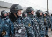 Учения сводного отряда УФСИН в Краснодаре