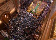 «Факты 24»: митрополит Исидор провел Рождественскую литургию в Свято-Екатерининском соборе, в Краснодаре началась серия рождественских концертов Кубанского казачьего хора