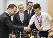 «Факты 24»: Медведев посетил с рабочим визитом Кубань, в краснодарском детском технопарке «Кванториум» прошел день открытых дверей