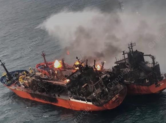 «Факты 24»: пострадавших во время пожара на танкерах в Черном море моряков доставили в Крым, Кондратьев провел совещание по реализации нацпроектов на Кубани