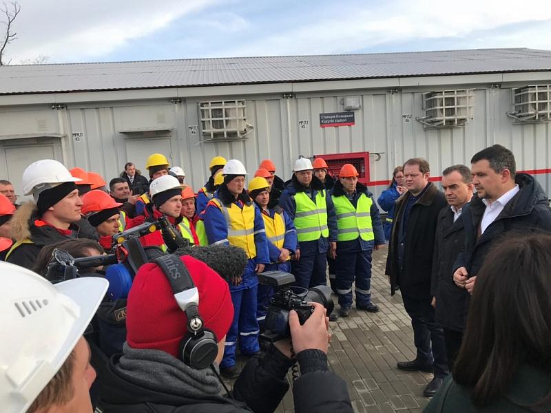 «Факты 24»: на Кубани открыли новую железнодорожную ветку для грузовых поездов, Анна Минькова осмотрела центр здоровья в Краснодаре