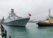 Корабли ВМС Турции в Новороссийске