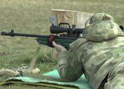 В Адыгее прошли соревнования по стрельбе среди росгвардейцев