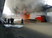 Причиной пожара на мебельном складе в Краснодаре назвали короткое замыкание