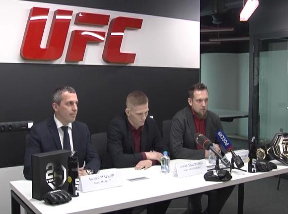 Боец UFC Сергей Хандожко: я хочу, чтобы спортсмены Кубани побеждали на всех аренах