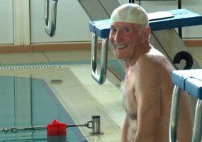 В Ейске в честь Дня Победы 76-летний спортсмен-инвалид установит личный рекорд по плаванию
