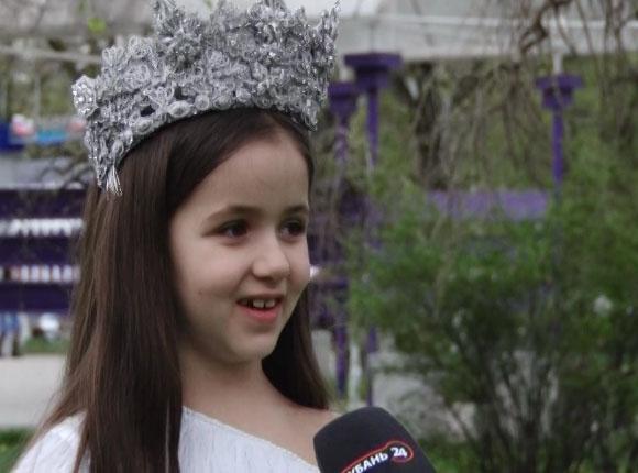 Семилетняя жительница Армавира будет участвовать в конкурсе «Юная мисс Вселенная»