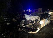 Под Горячим Ключом при лобовом столкновении погиб водитель иномарки