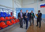 Глава Адыгеи посетил спортивные объекты в Тахтамукайском районе