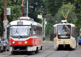 В Краснодаре на три вечера изменят маршруты трамваев № 4, 5, 8, 11