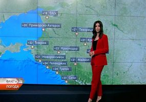 В Краснодаре 22 мая синоптики прогнозируют дождь и грозу