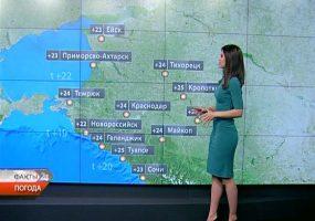 В Краснодаре 25 мая синоптики прогнозируют дождь и грозу