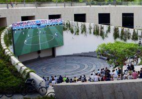 В парке «Краснодар» покажут матч «быков» с Арсеналом